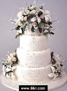 أنواع مختلفة لأجمل و أحسن كيكات الأعراس