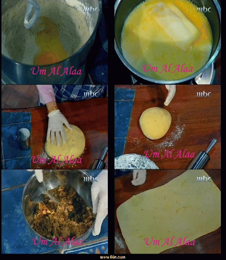 تخلط 3- تضاف البيضة و خليط الحليب ثم الفانيليا و